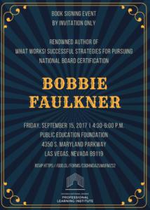 Bobbie Faulkner Book Signing Event