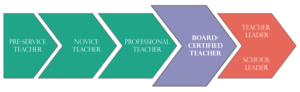 Professional Career Continuum for Teaching